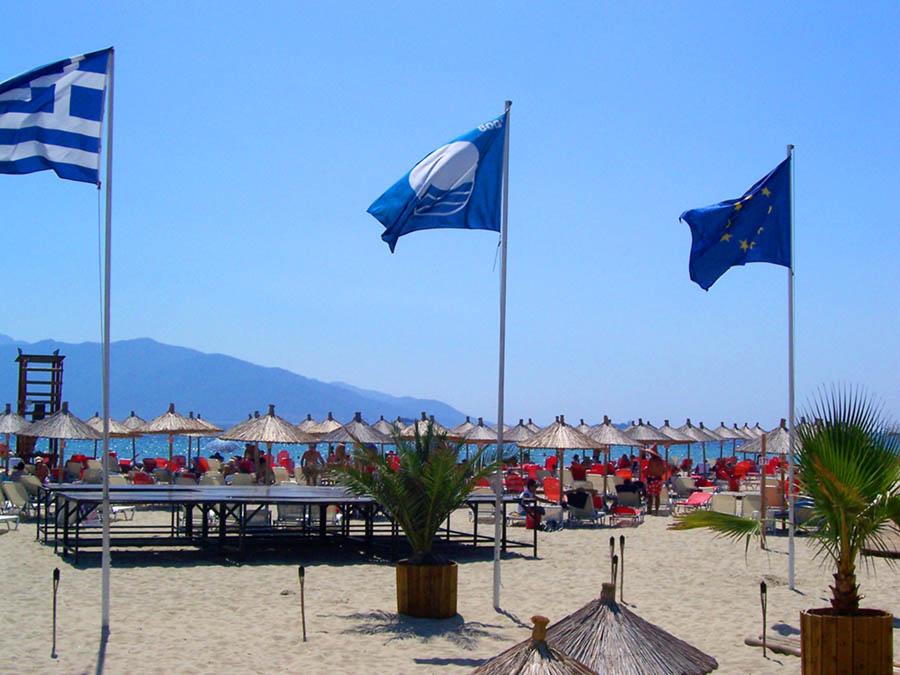 Ιστός Γαλάζιας Σημαίας. Φωτογραφία από Γαλάζια Σημαία