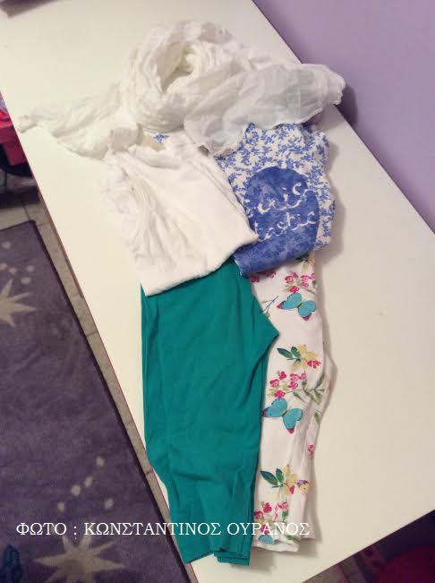 Διάφοροι συνδυασμοί ρούχων